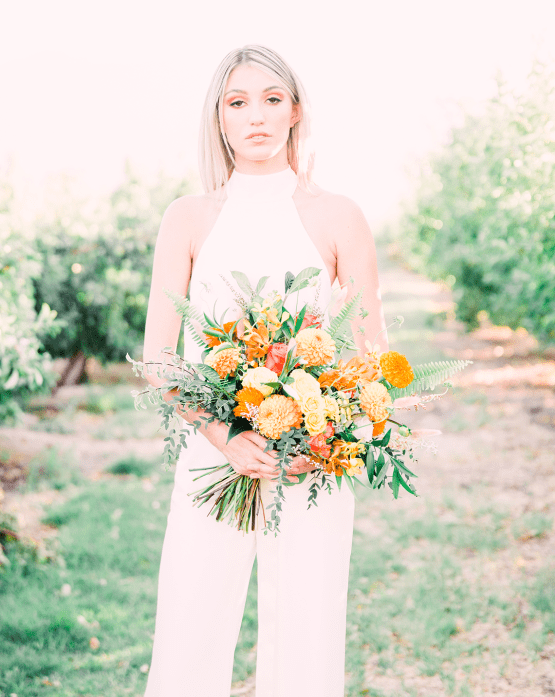 Same Sex Wedding Inspiration with Bright Citrus Decor – Alycia Moore Photography 23