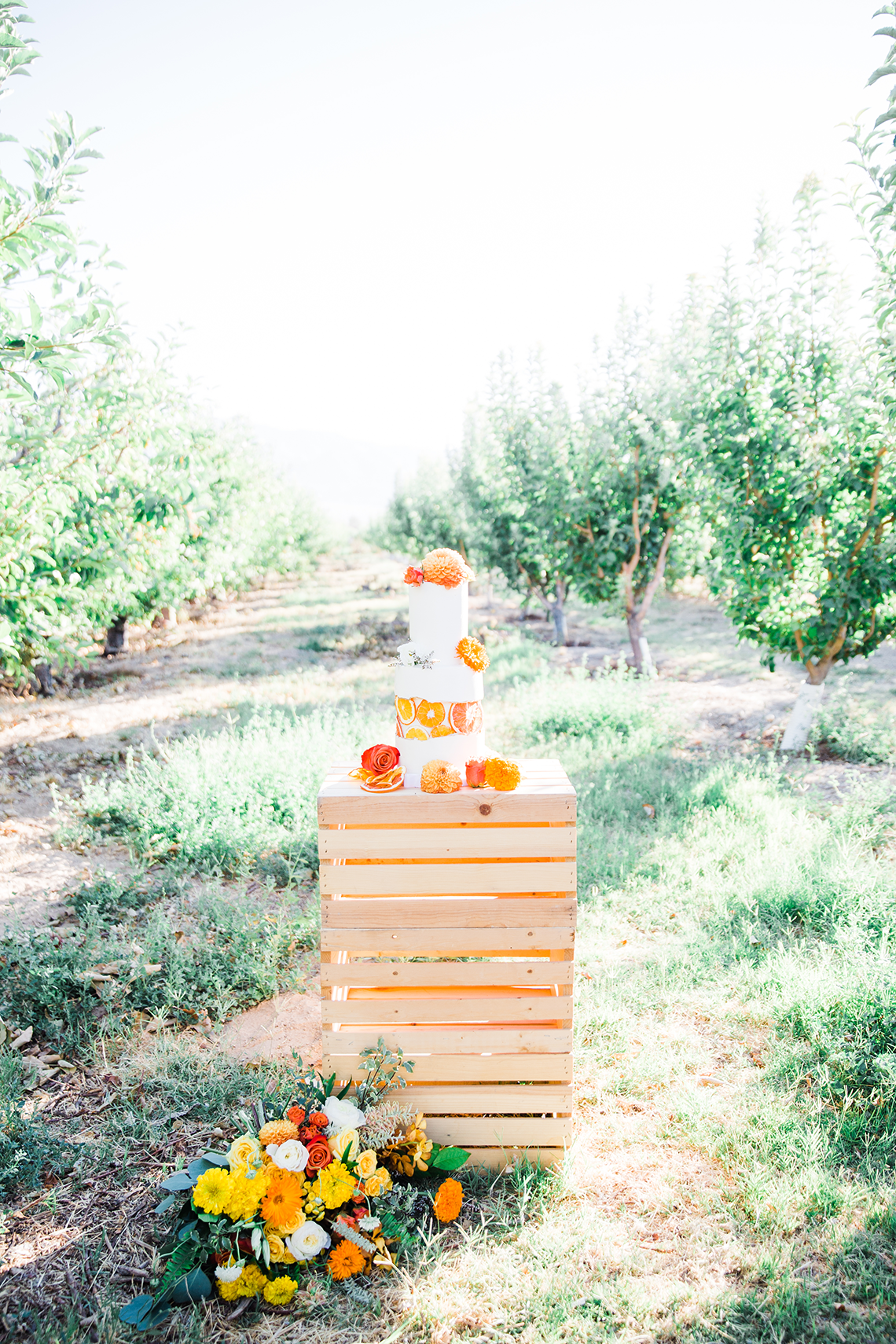 Same Sex Wedding Inspiration with Bright Citrus Decor – Alycia Moore Photography 30