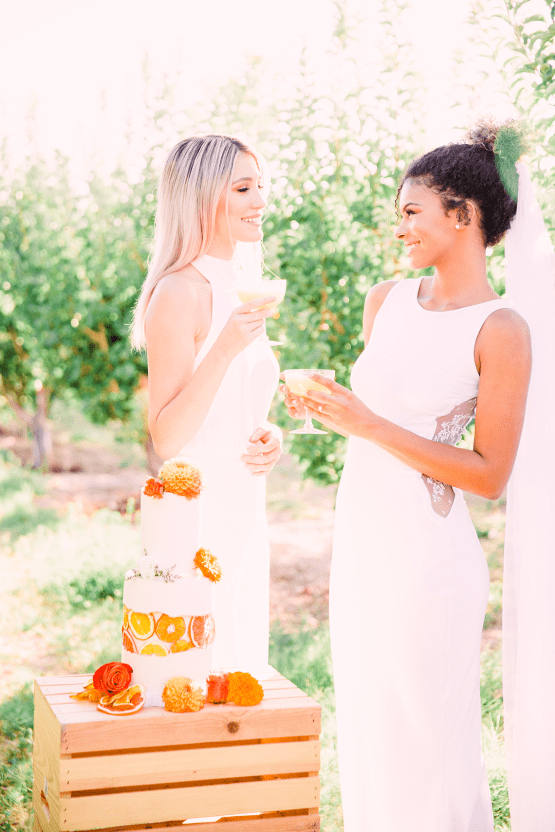 Same Sex Wedding Inspiration with Bright Citrus Decor – Alycia Moore Photography 34