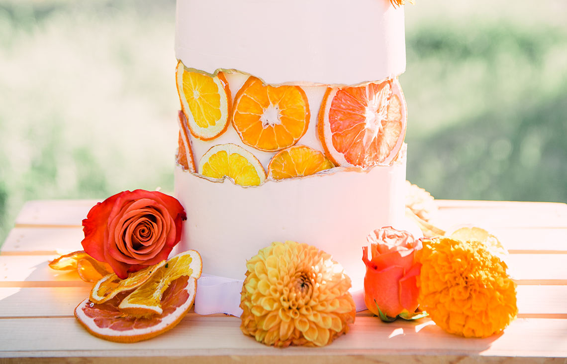 Same Sex Wedding Inspiration with Bright Citrus Decor – Alycia Moore Photography 6