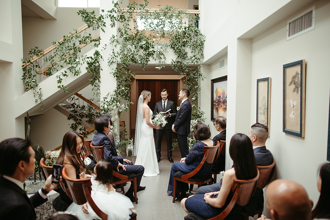 Stunning Intimate Elopement at Home – Gipe Photography 16