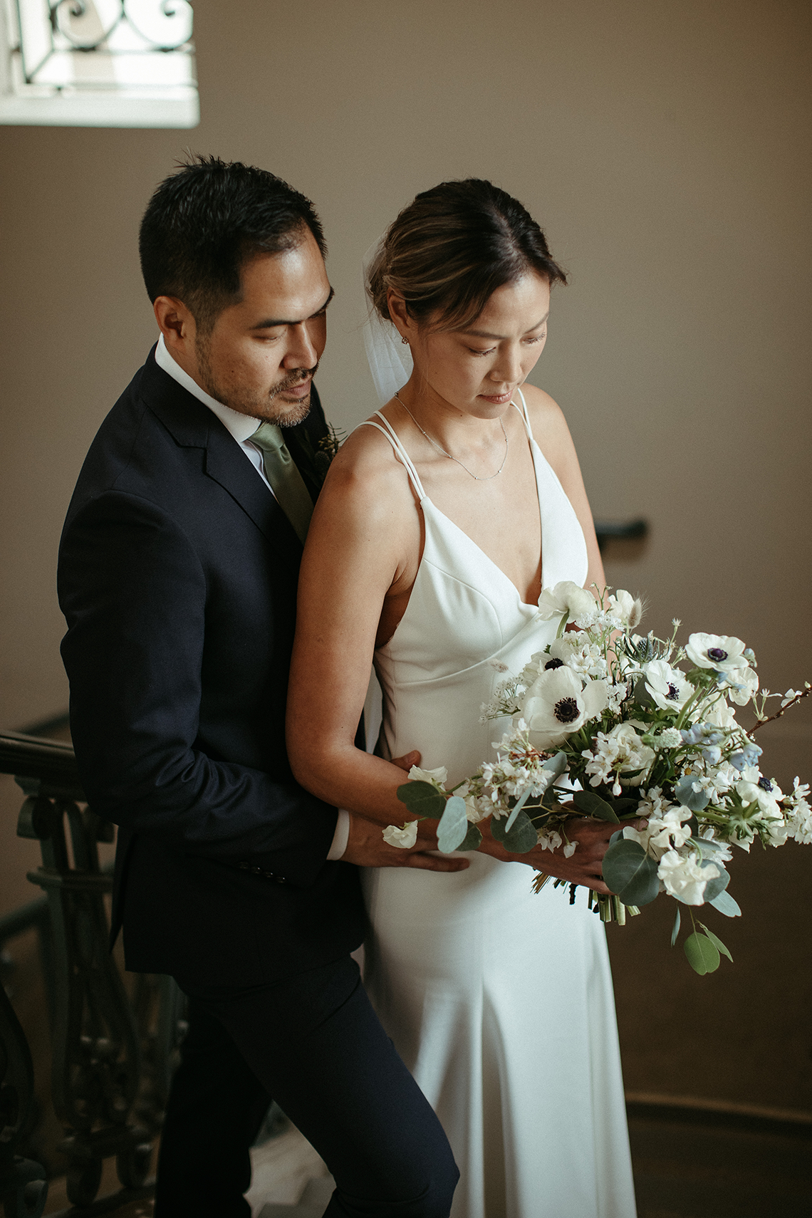 Stunning Intimate Elopement at Home – Gipe Photography 24