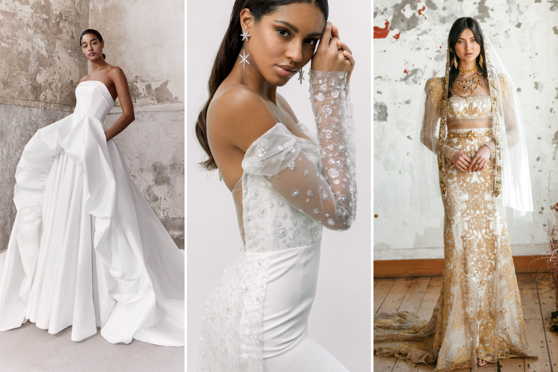 The Best Wedding Dresses from 2021 Bridal Fashion Week – Bridal Musings