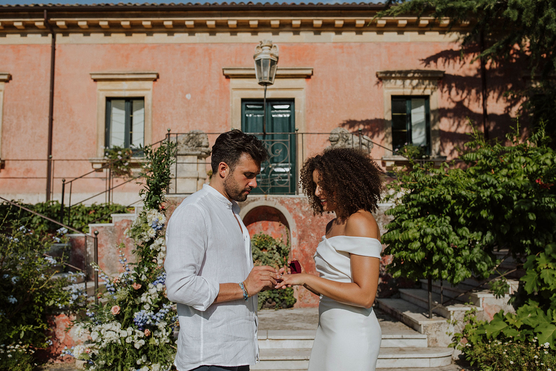 Beautiful Sicilian Wedding Inspiration at Villa di Bella on Mt Etna – Deborah Lo Castro Photography 11