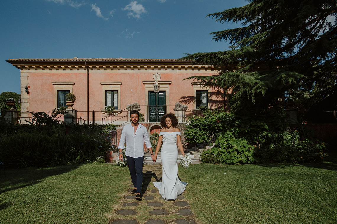 Beautiful Sicilian Wedding Inspiration at Villa di Bella on Mt Etna – Deborah Lo Castro Photography 13