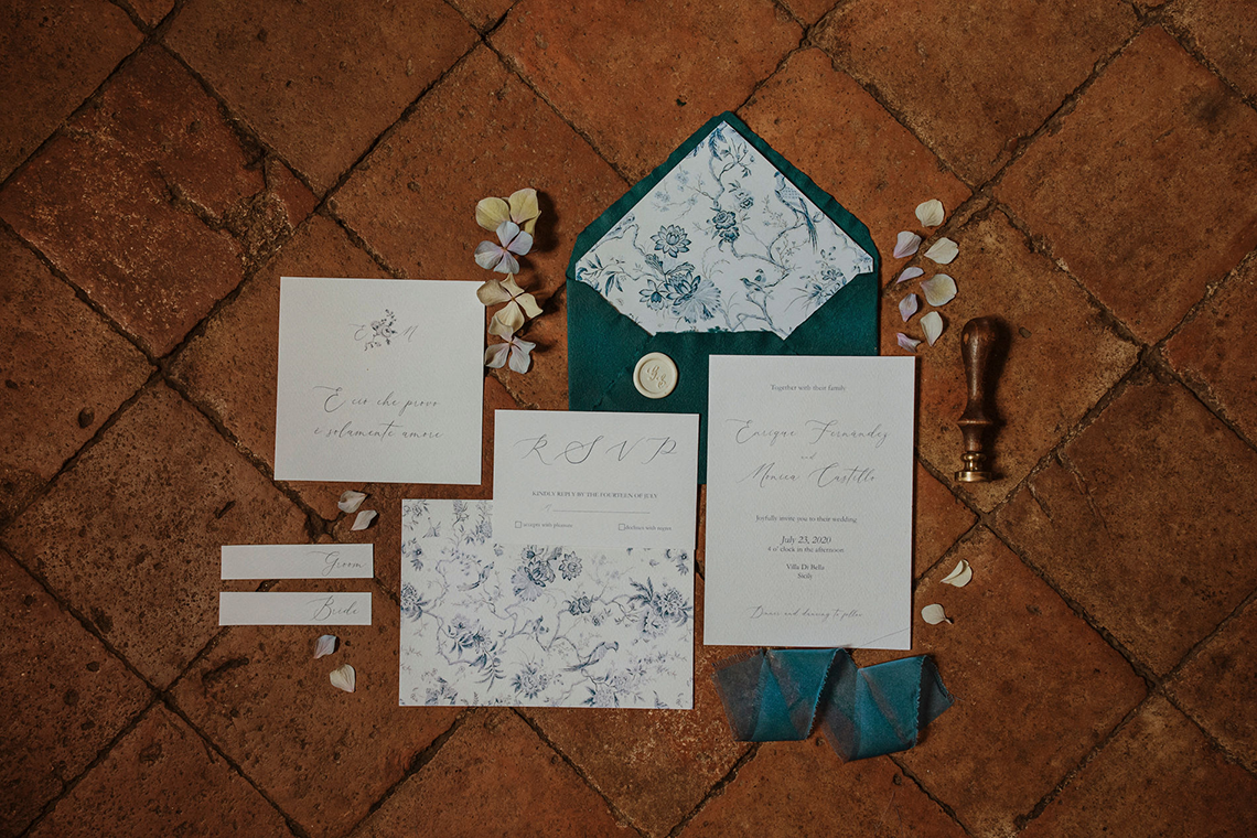 Beautiful Sicilian Wedding Inspiration at Villa di Bella on Mt Etna – Deborah Lo Castro Photography 3