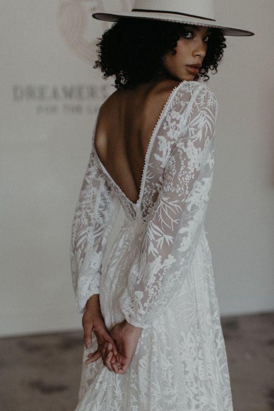 Dreamers and Lovers New Bohemian Wedding Dresses and LA Flagship Bridal Salon – Bridal Musings – Francesca Boho Wedding Dress 5