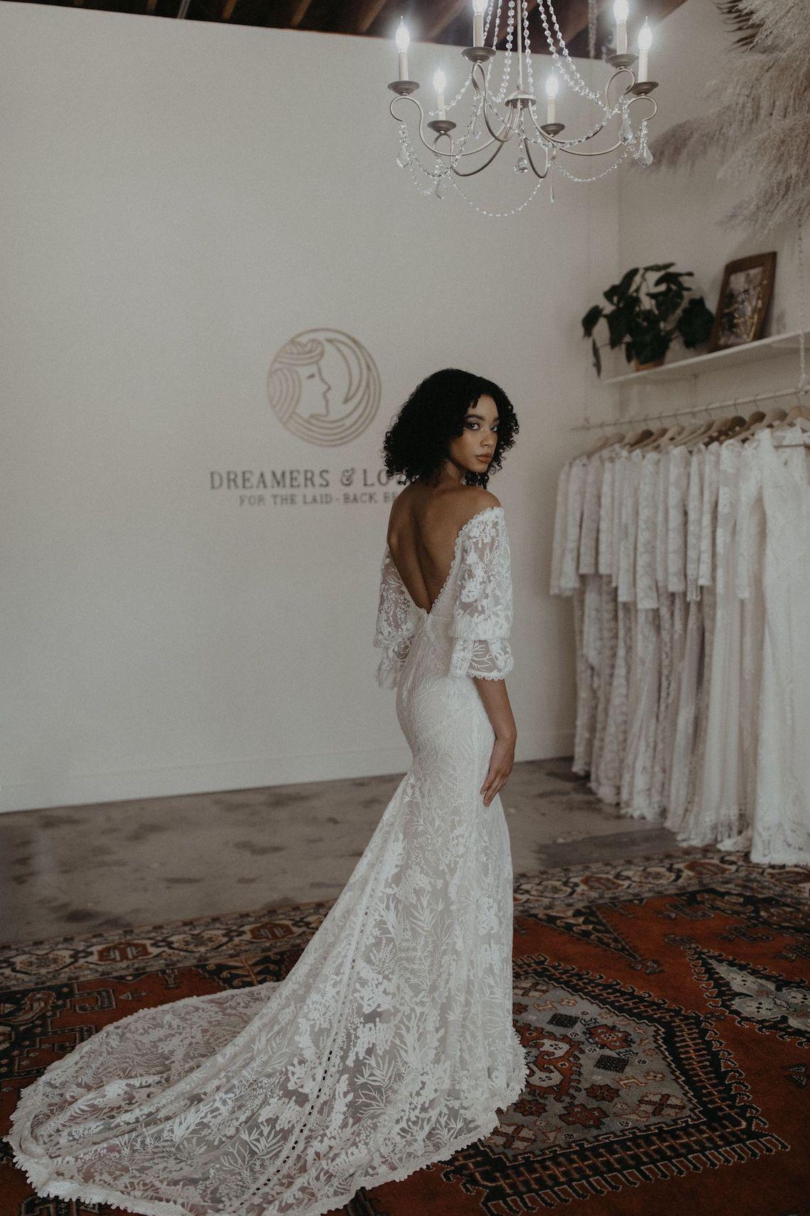 Dreamers and Lovers New Bohemian Wedding Dresses and LA Flagship Bridal Salon – Bridal Musings – Naomi Boho Wedding Dress 1