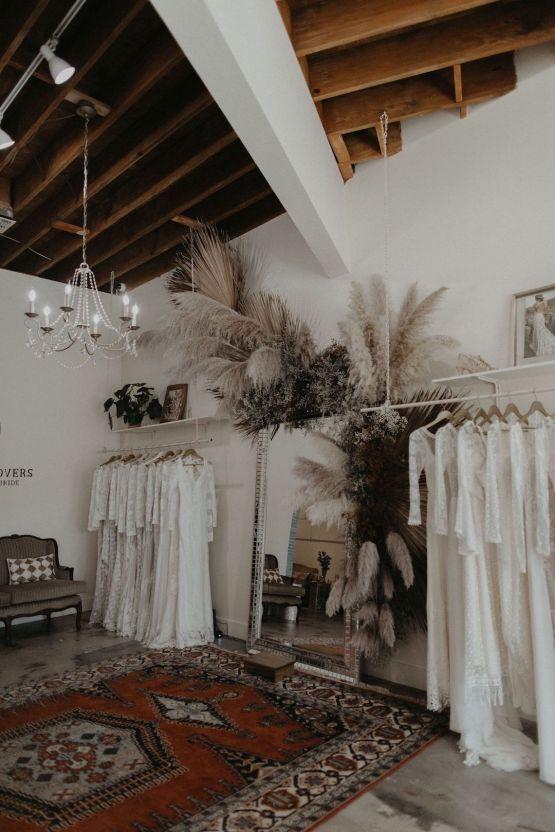 Dreamers and Lovers New Bohemian Wedding Dresses and LA Flagship Bridal Salon – Bridal Musings – Venice Showroom Interior 2