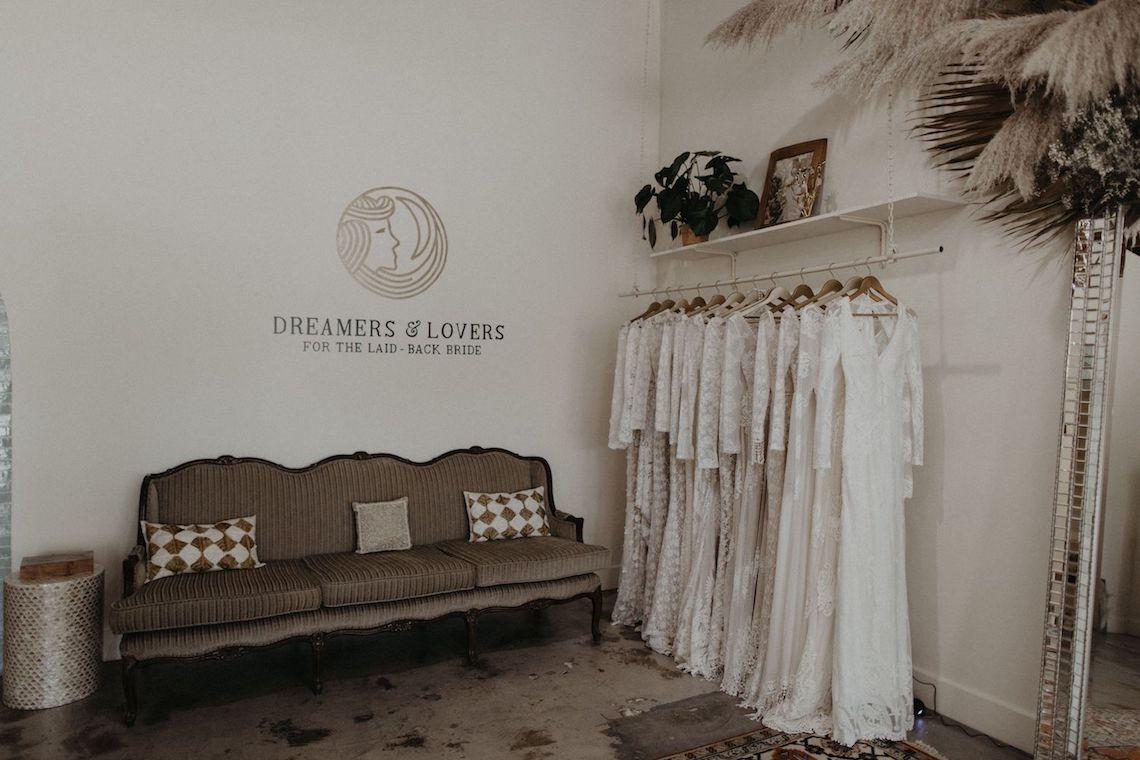 Dreamers and Lovers New Bohemian Wedding Dresses and LA Flagship Bridal Salon – Bridal Musings – Venice Showroom Interior 4