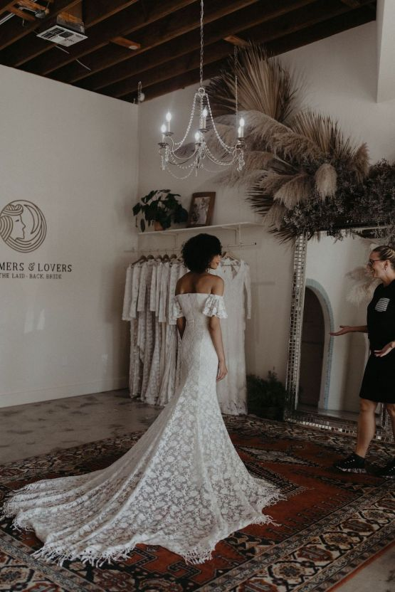 Dreamers and Lovers New Bohemian Wedding Dresses and LA Flagship Bridal Salon – Bridal Musings – Venice Showroom Interior 8
