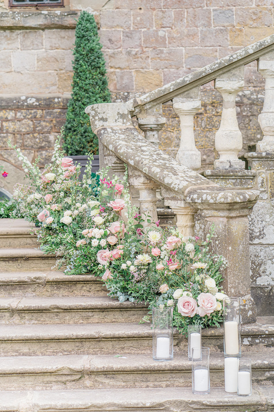 Fairytale Royal English Wedding Inspiration at Clearwater Castle – Sara Cooper Photography – Smitten Weddings 20