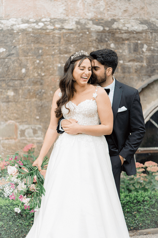 Fairytale Royal English Wedding Inspiration at Clearwater Castle – Sara Cooper Photography – Smitten Weddings 25