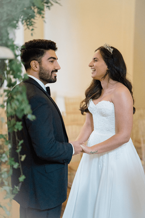 Fairytale Royal English Wedding Inspiration at Clearwater Castle – Sara Cooper Photography – Smitten Weddings 43