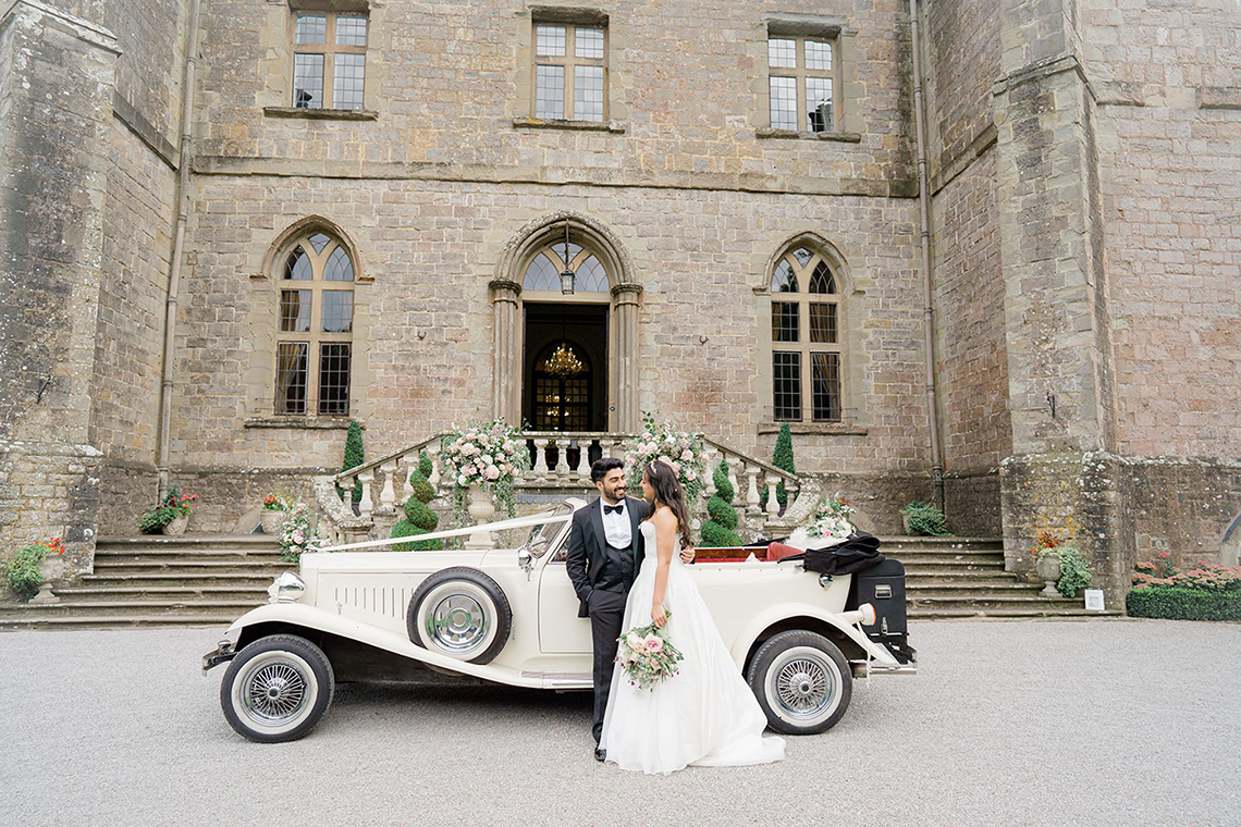 Fairytale Royal English Wedding Inspiration at Clearwater Castle – Sara Cooper Photography – Smitten Weddings 6