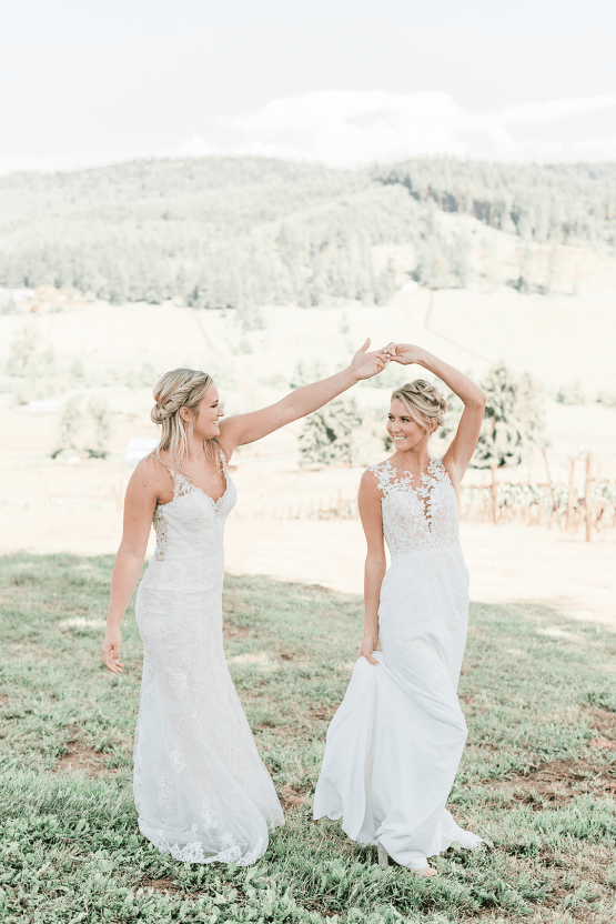 Pink Boho LGBTQ Winery Wedding Inspiration – Sierra Rose Photography 36