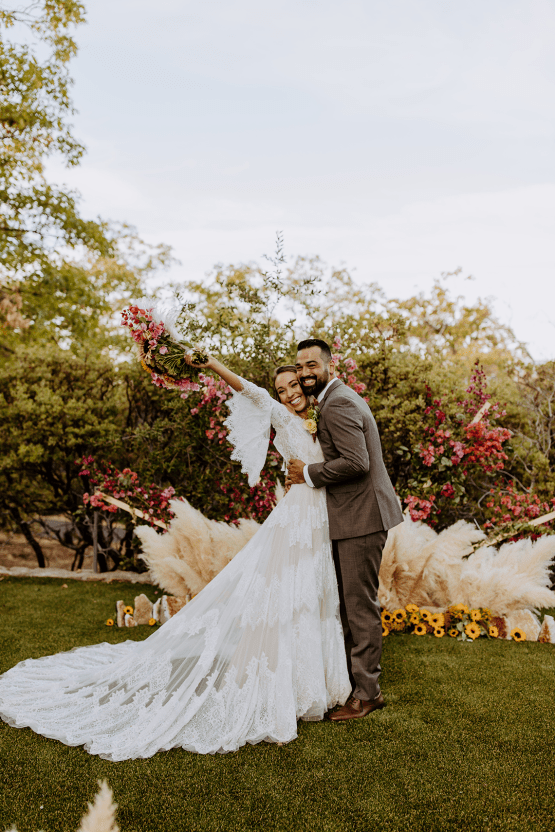 Bohemian and Rustic Wedding Inspiration with Pampas Grass – Parallel33 Photography – Esoteric Bride 35