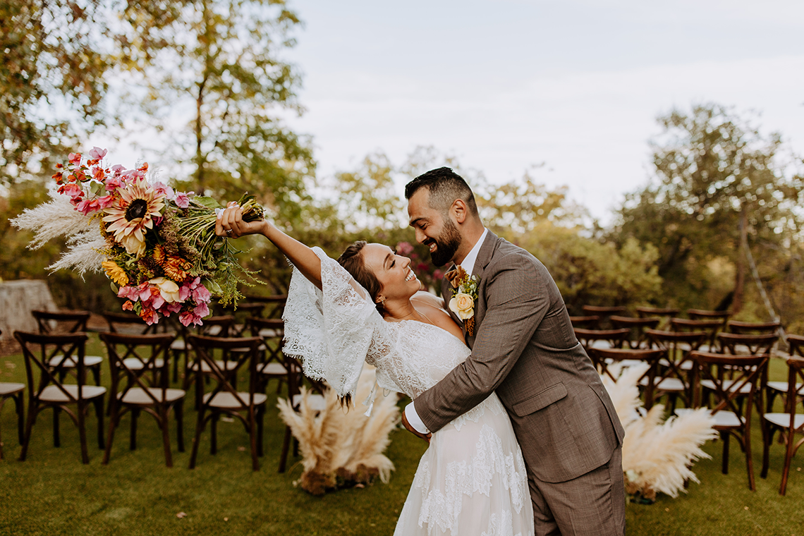 Bohemian and Rustic Wedding Inspiration with Pampas Grass – Parallel33 Photography – Esoteric Bride 8