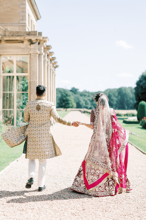 Breathtaking Royal Indian Wedding Inspiration at Prestwold Hall – Sophie May Photo 17