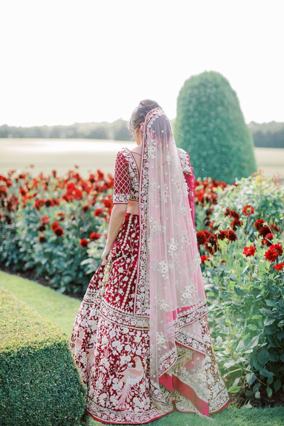Breathtaking Royal Indian Wedding Inspiration at Prestwold Hall – Sophie May Photo 20