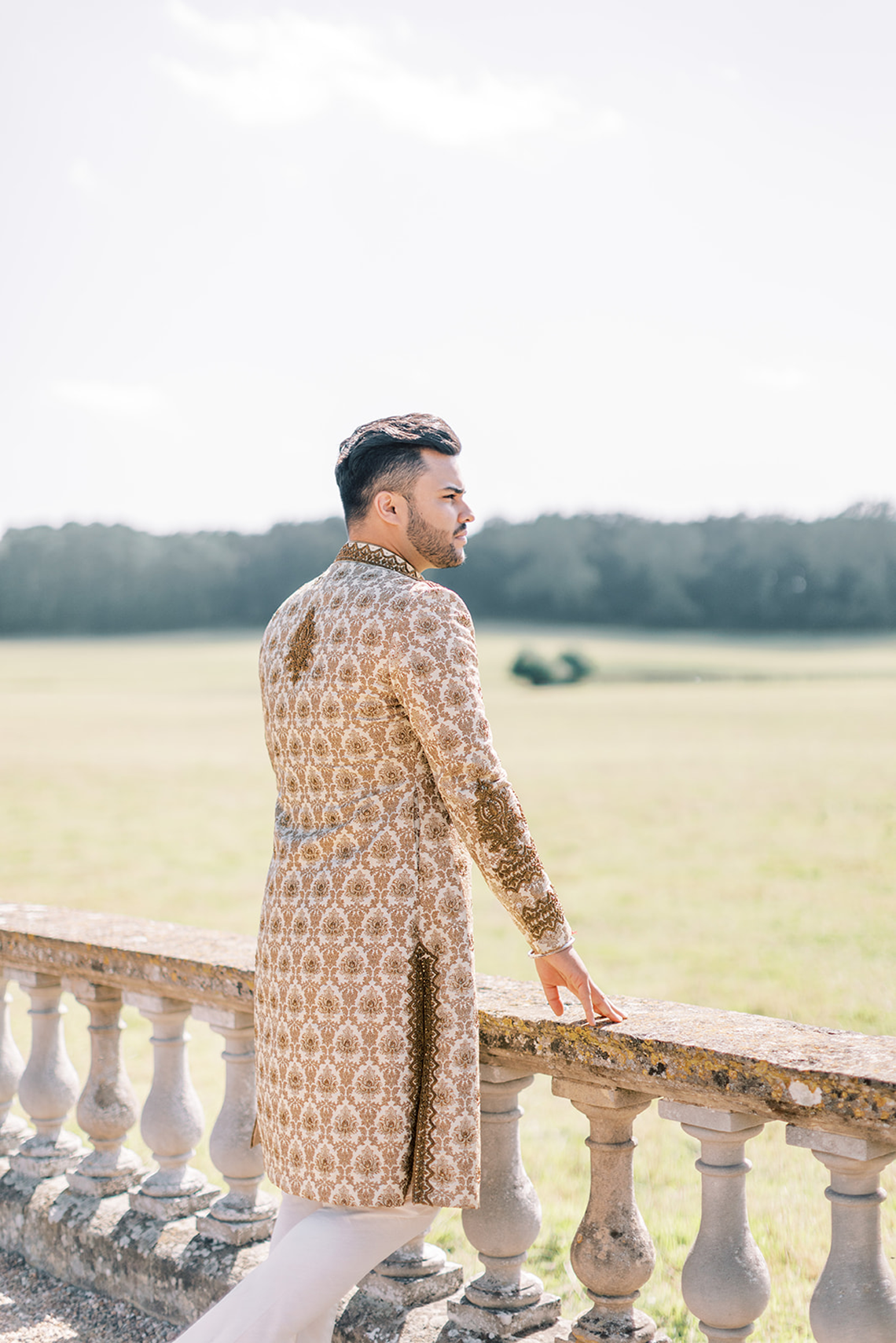 Breathtaking Royal Indian Wedding Inspiration at Prestwold Hall – Sophie May Photo 21