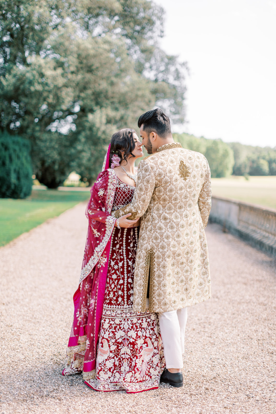 Breathtaking Royal Indian Wedding Inspiration at Prestwold Hall – Sophie May Photo 22