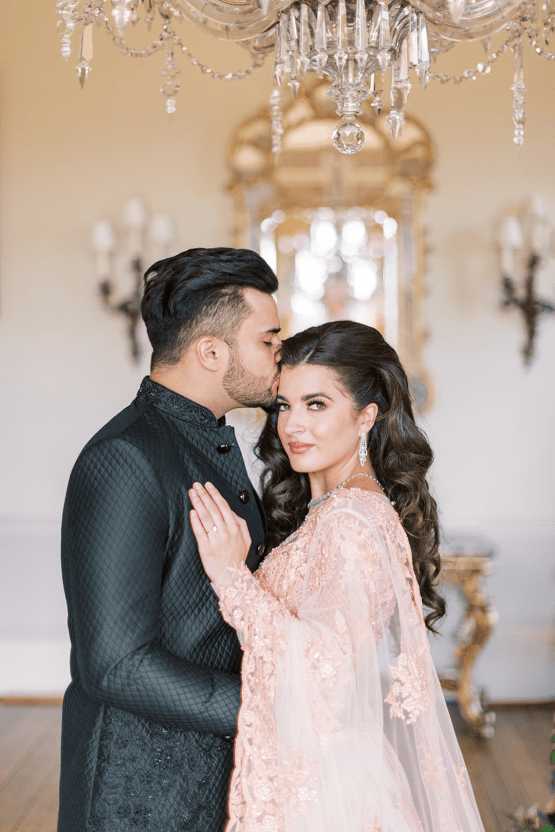 Breathtaking Royal Indian Wedding Inspiration at Prestwold Hall – Sophie May Photo 46