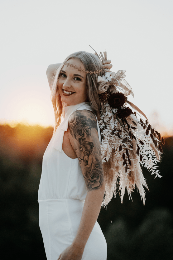 Glam Rock Bridal Inspiration – Christine Ladehoff Fotografie 16
