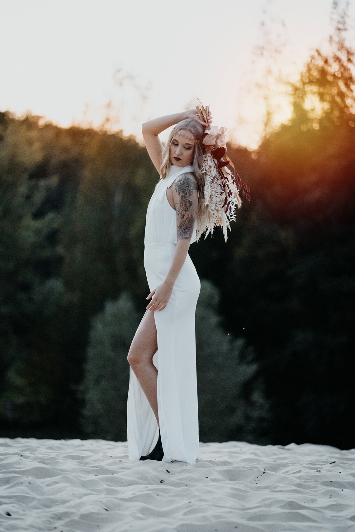 Glam Rock Bridal Inspiration – Christine Ladehoff Fotografie 17