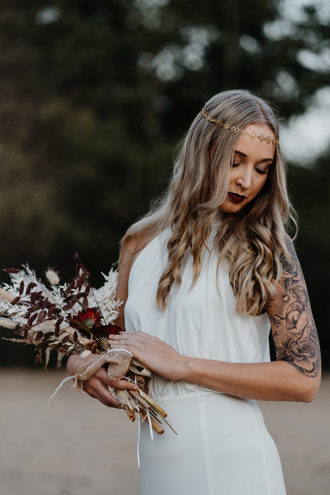 Glam Rock Bridal Inspiration – Christine Ladehoff Fotografie 2