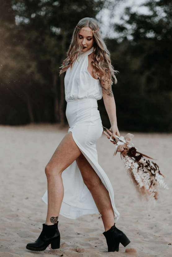 Glam Rock Bridal Inspiration – Christine Ladehoff Fotografie 4