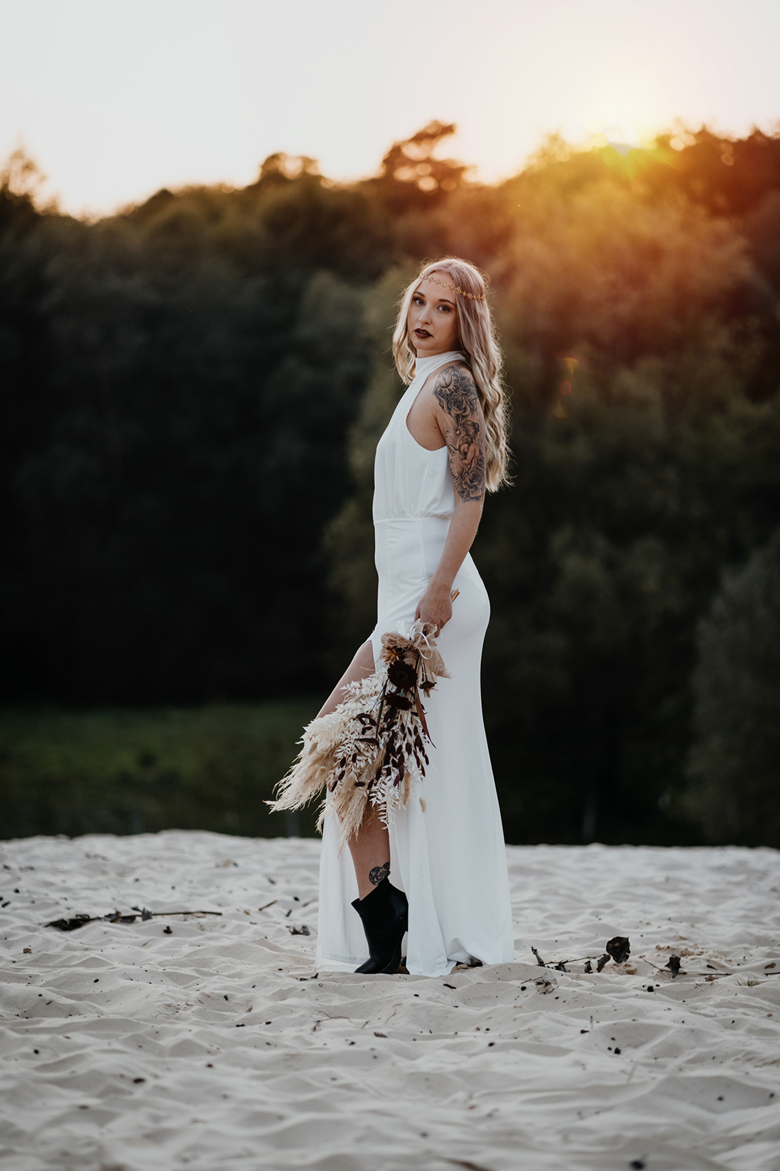 Glam Rock Bridal Inspiration – Christine Ladehoff Fotografie 7