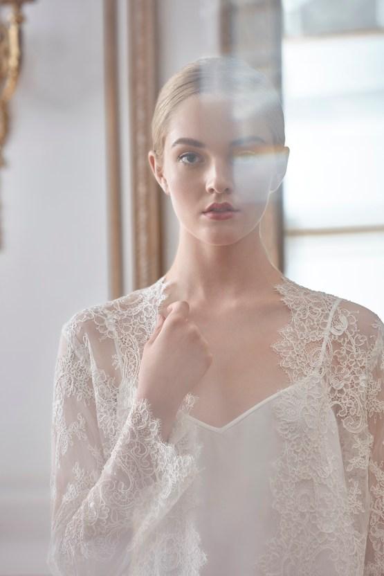 Sareh Nouri Luxurious Lace Bridal Robes – Bridal Musings – Sarabeth Robe 4