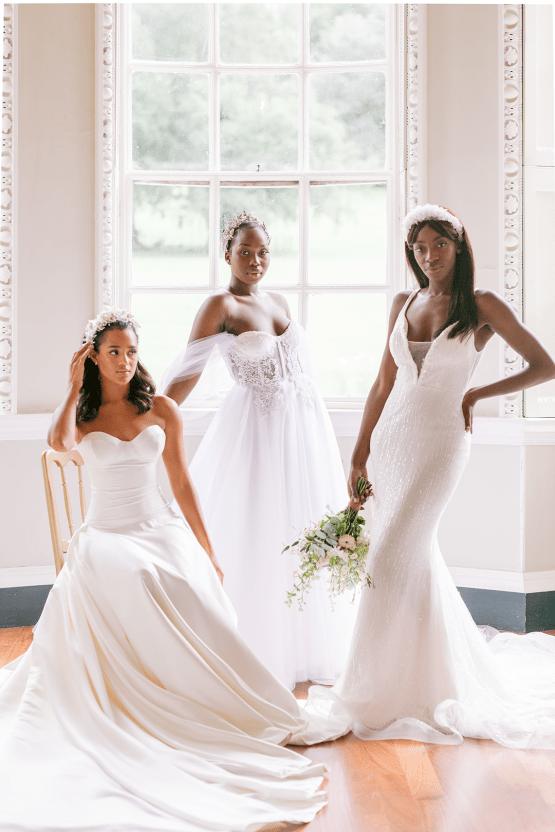 Elegant British Garden Inspired Wedding Ideas at Newburgh Priory – Felisiti Greis – Elsie Love Photography 31