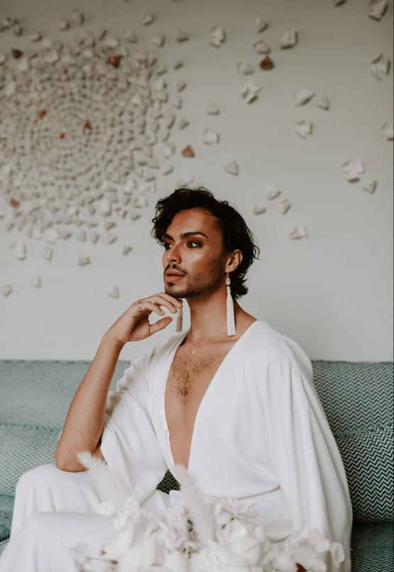 Gender Fluid Wedding Inspiration at Dorfold Hall – Phoebe Jane Photography 19