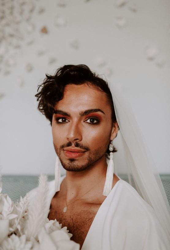 Gender Fluid Wedding Inspiration at Dorfold Hall – Phoebe Jane Photography 20