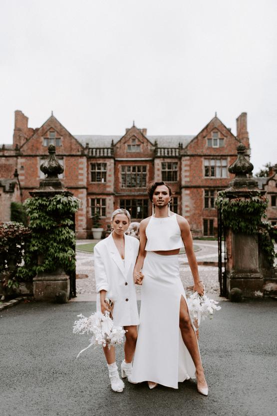 Gender Fluid Wedding Inspiration at Dorfold Hall – Phoebe Jane Photography 46