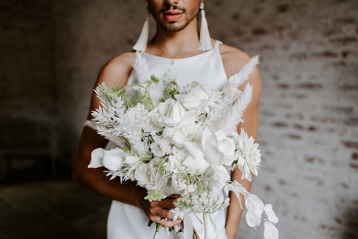 Gender Fluid Wedding Inspiration at Dorfold Hall – Phoebe Jane Photography 6