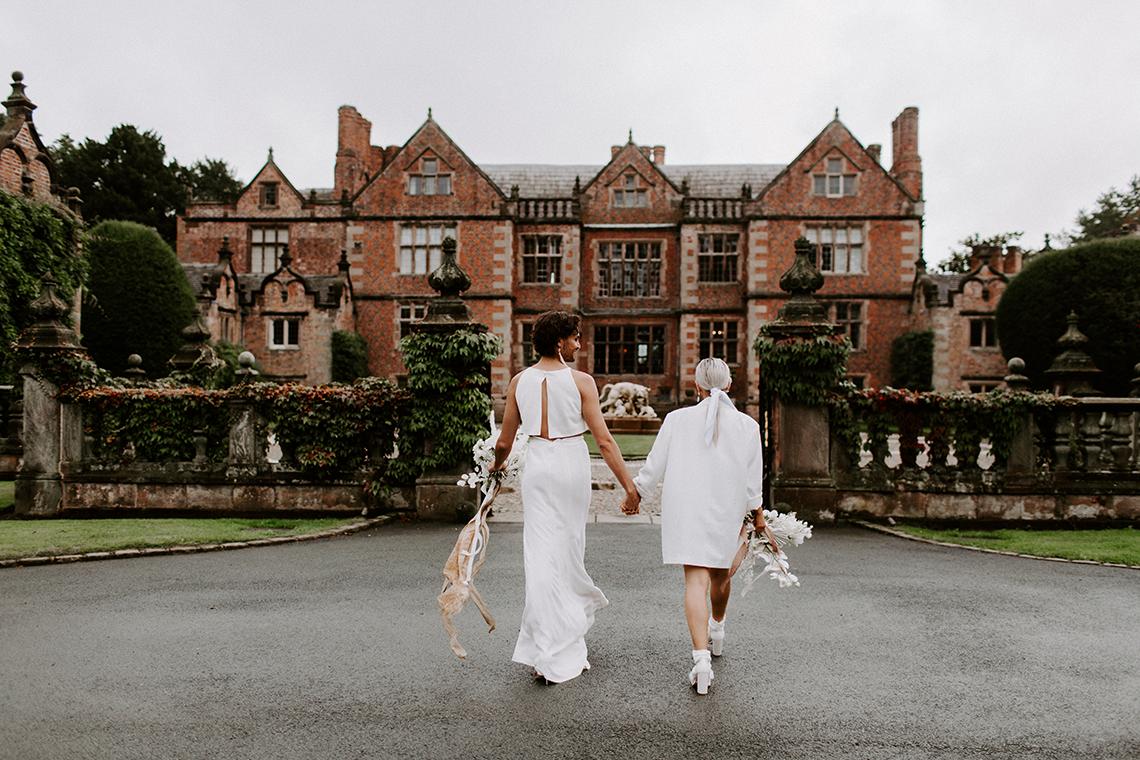Gender Fluid Wedding Inspiration at Dorfold Hall – Phoebe Jane Photography 7