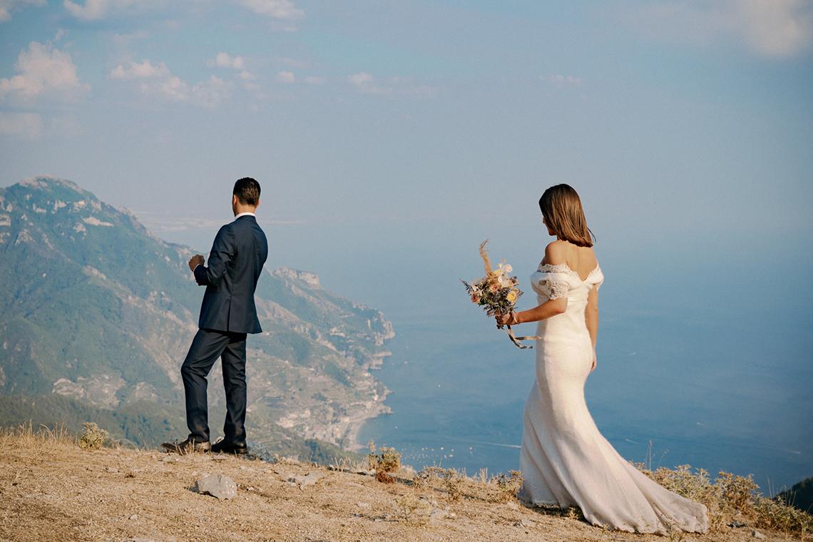 Intimate Cliffside Ravello Italy Microwedding – Enrico Capuano Photographer 10