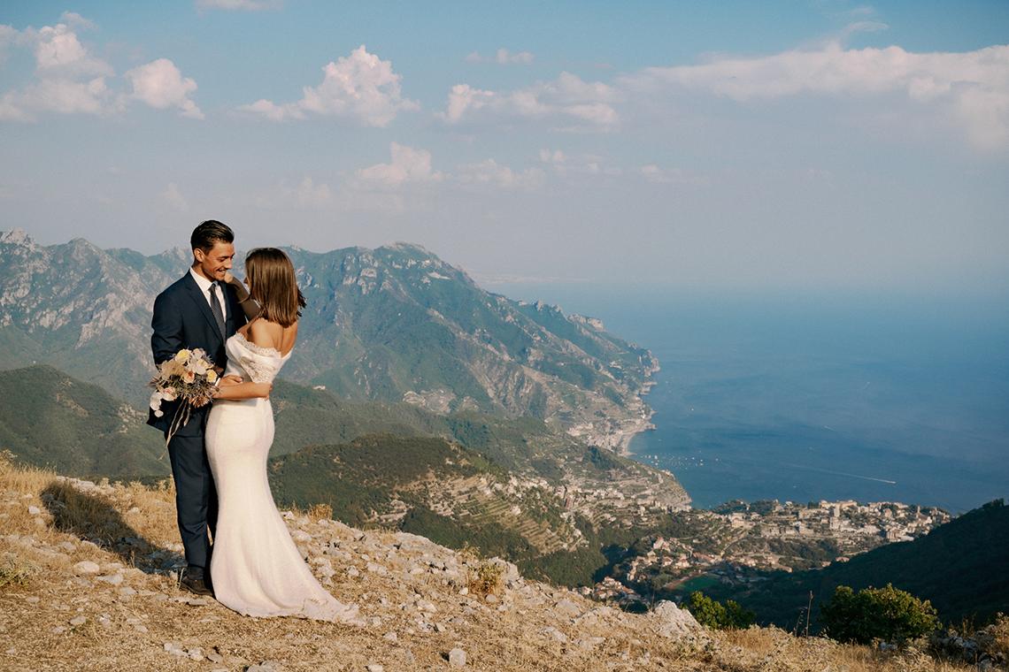 Intimate Cliffside Ravello Italy Microwedding – Enrico Capuano Photographer 11