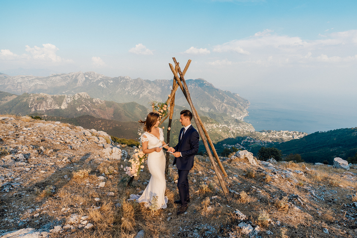 Intimate Cliffside Ravello Italy Microwedding – Enrico Capuano Photographer 17