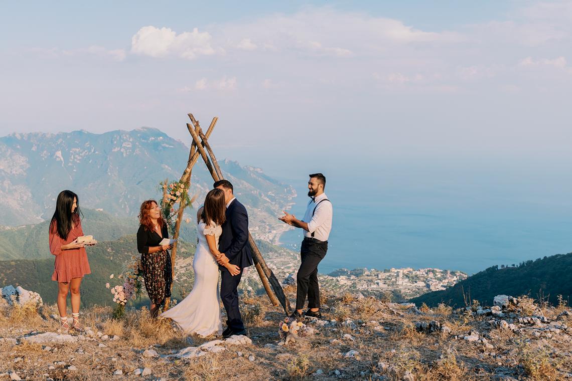 Intimate Cliffside Ravello Italy Microwedding – Enrico Capuano Photographer 19