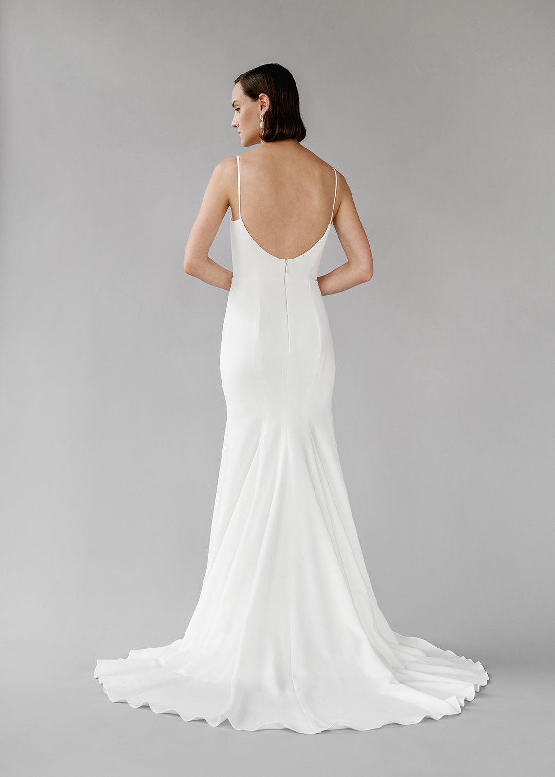 Modern Minimalist 2021 Wedding Dresses by Aesling Bride – Gossamer Dress 3