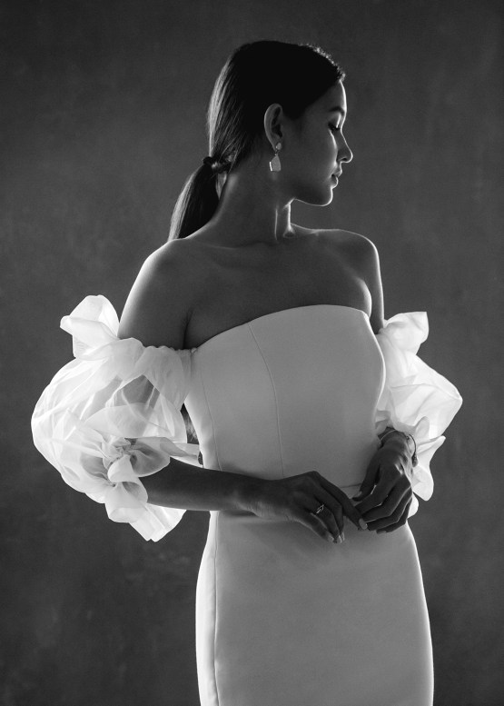 Modern Minimalist 2021 Wedding Dresses by Aesling Bride – Panacea Dress 8