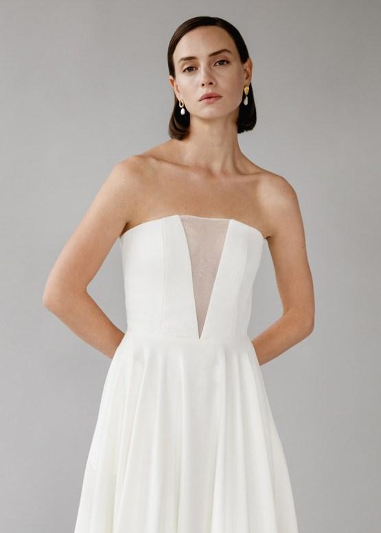 Modern Minimalist 2021 Wedding Dresses by Aesling Bride – Sonder Dress 3