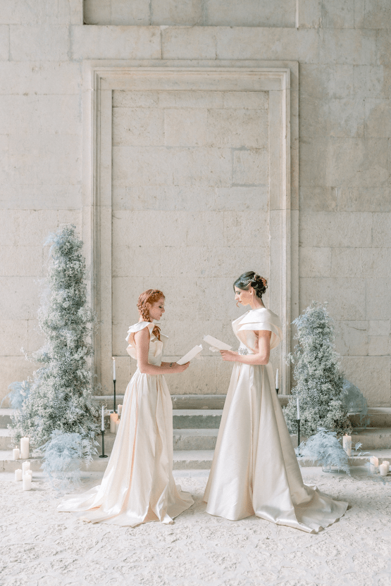 Romantic Same Sex Winter Wedding Inspiration – Francesco Mantino 14