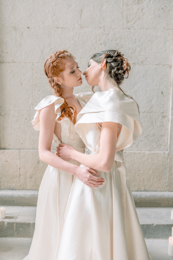 Romantic Same Sex Winter Wedding Inspiration – Francesco Mantino 17