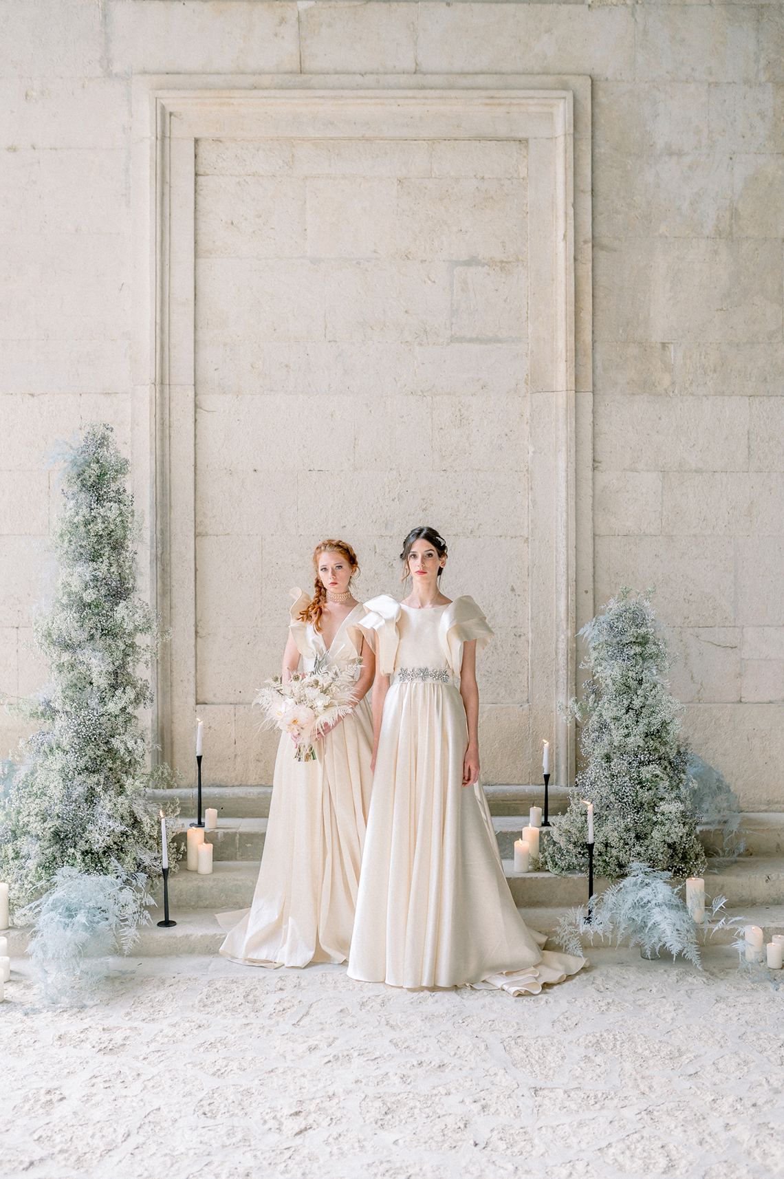 Romantic Same Sex Winter Wedding Inspiration – Francesco Mantino 20
