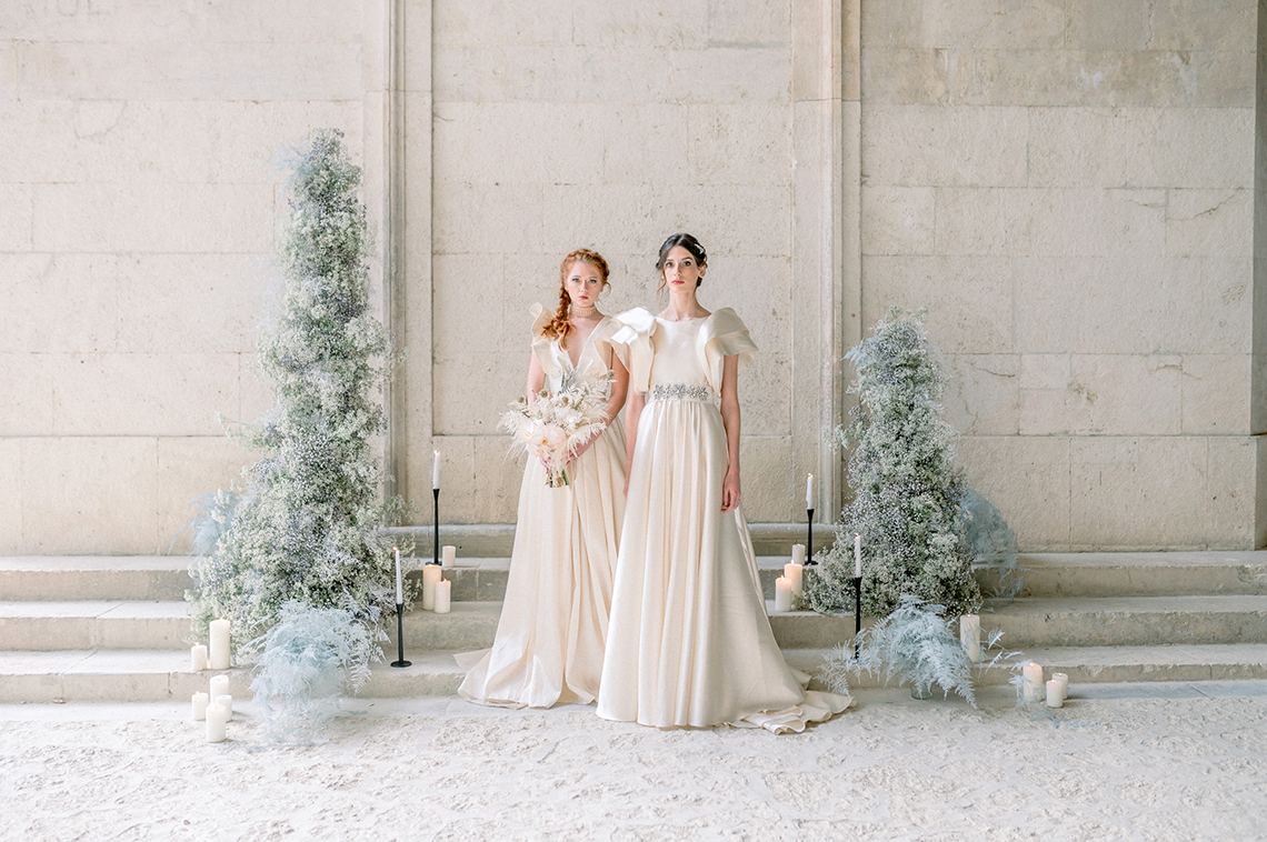 Romantic Same Sex Winter Wedding Inspiration – Francesco Mantino 51